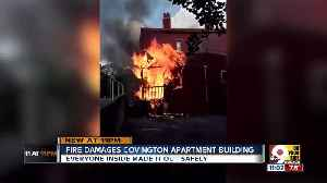 Two families displaced after Covington fire [Video]