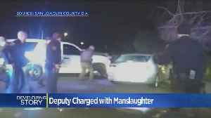 Deputy Faces Voluntary Manslaughter Charge After Shooting [Video]