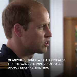 Prince Harry and Prince William open up about their mother's death [Video]