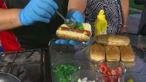 It's Nearly National Hot Dog Day, So We're Cooking Chicago Dogs! [Video]