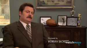 Top 10 Hilarious Ron Swanson Moments [Video]