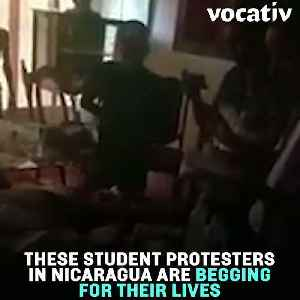 Chilling Footage Shows Student Protesters in Nicaragua Begging for Their Lives [Video]