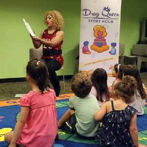Drag Queen Story Hour teaches children about gender fluidity [Video]