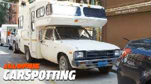 Park a Toyota Camper To Avoid Paying Rent in NYC | Carspotting [Video]
