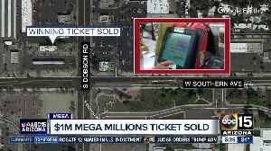 $1 million Mega Millions ticket sold in Mesa [Video]
