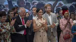 Prince Harry and Meghan Markle Visit A Nelson Mandela Exhibit In London [Video]