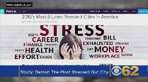 Report: Why Detroit is America's Most Stressed Out City [Video]