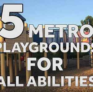Five metro OKC playgrounds for children of all abilities [Video]