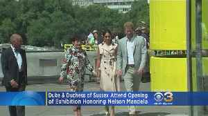 Prince William, Meghan Markle Attend Opening Of Exhibition Honoring Nelson Mandela [Video]