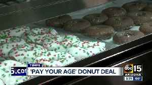 Hurts Donut Tempe offers 'Pay Your Age' promotion [Video]
