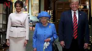 News video: Did the Queen Troll Trump? Twitter Goes Wild Over 'Brooch-Gate'