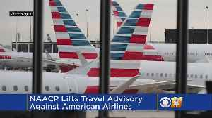 NAACP Lifts Travel Advisory Against American Airlines [Video]