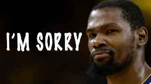 Kevin Durant APOLOGIZES To Instagram Toll! [Video]