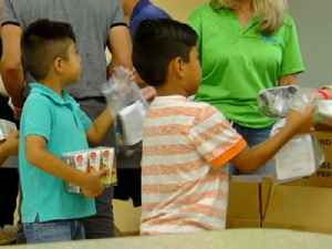 Free Food For Families program begins [Video]