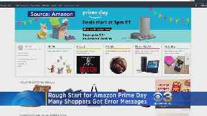 Amazon's 'Prime Day' Continues After Getting Off To Rough Start [Video]