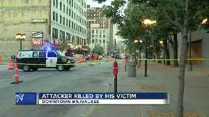 Police: Person who attacked dog walker in downtown Milwaukee dies in homicide [Video]