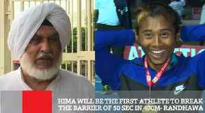 Hima Will Be The First Athlete To Break The Barrier Of 50 Sec In 400m- Randhawa [Video]