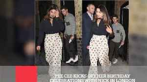 Pee Cee Kicks Off Her Birthday Celebrations With Nick In London [Video]