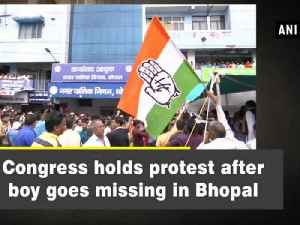 Congress holds protest after boy goes missing in Bhopal [Video]