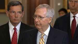 News video: McConnell reaffirms alliance with Europe as lawmakers slam Helsinki press conference