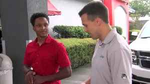 Man walks over a dozen miles to first day of work, CEO gifts him car as thanks [Video]