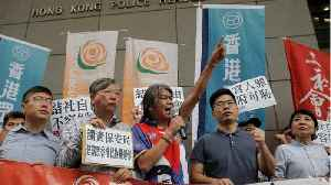 Hong Kong Threatens Pro-Independence Group With Ban [Video]