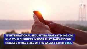 Samsung Galaxy S10 Rumors: Here's What to Expect [Video]