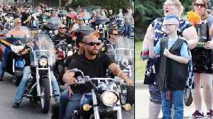 Motorcycle Riders Show Up to Birthday Party for Wisconsin Boy With Autism [Video]
