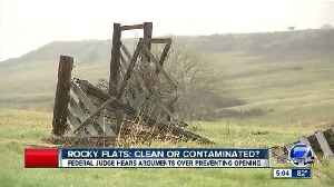 Lawsuit calls for additional research into safety at Rocky Flats National Wildlife Refuge [Video]