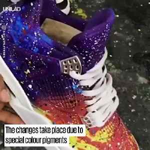 The Amazing Vans Custom Version - Colour Changing Shoes [Video]