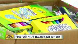 Viral Facebook post helping Tampa Bay area teachers get school supplies for the new year [Video]