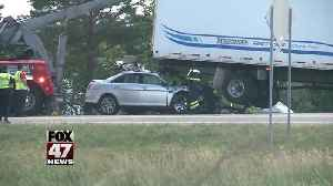 UPDATE: One person killed in I-96 accident [Video]