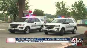 Overland Park gas station clerk in critical condition after being stabbed [Video]