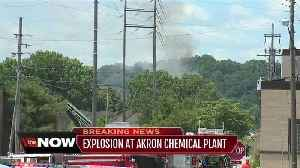 Update on explosion at Akron chemical plant [Video]