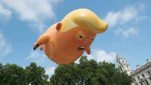 'Trump Baby' Blimp Coming to U.S.? [Video]