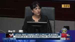 Conflict of interest charges filed against Supervisor Leticia Perez [Video]