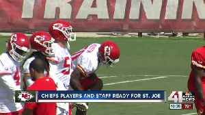 Chiefs head to St. Joe for training camp [Video]