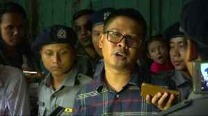 Jailed Reuters reporter testifies in Myanmar [Video]