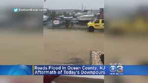 Storm Causes Flooding In Ocean County [Video]