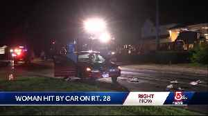 Woman struck by car on Cape [Video]