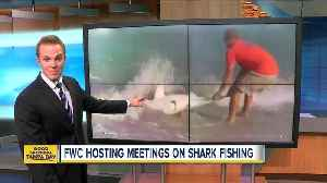 FWC may change shore-based shark fishing rules [Video]