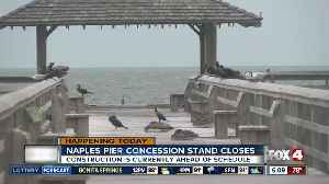Naples Pier concession stand is closed [Video]