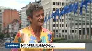 EU's Vestager Says Finding Android Solution Is Up to Google [Video]