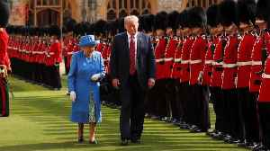 Trump Wrongly Says Queen Inspected Guard of Honor For First Time in 70 Years Because of His Visit [Video]