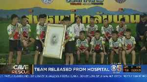 Thai Soccer Team Rescued From Cave Out Of Hospital [Video]