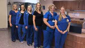 6 Nurses Working at Same Hospital Unit All Pregnant At Same Time [Video]