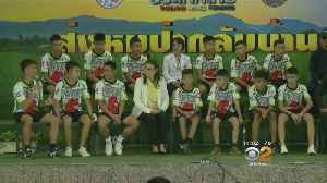 Thai Soccer Team Released From Hospital, Share Story Of Survival [Video]