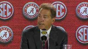 Alabama coach Nick Saban comments on UCF and playoff system [Video]