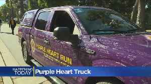 Specially Adapted Truck For Wounded Veteran Makes Way Across Sacramento [Video]