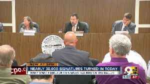 Group submits Hamilton Co. sales tax petition [Video]